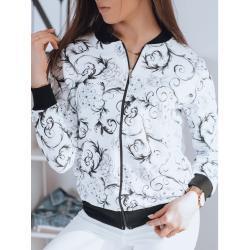 FLORINA women's bomber sweatshirt white BY0786