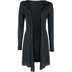 Dámské Svetry v černé barvě ve streetwear stylu s kulatým výstřihem
