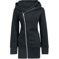 Forplay - Zip Case - Mikina s kapucí na zip - černá