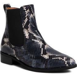 Dámské Kotníkové boty Gabor v modré barvě s výškou podpatku do 3 cm