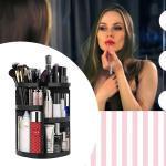 GFT Otočný kosmetický organizér - černý