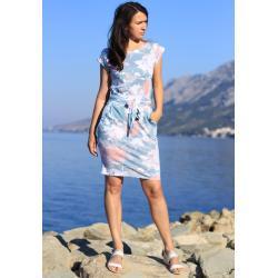 Glara Dámské letní šaty s květinovým vzorem 550254