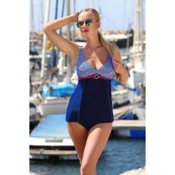 Glara Retro námořnické dámské tankiny 450083