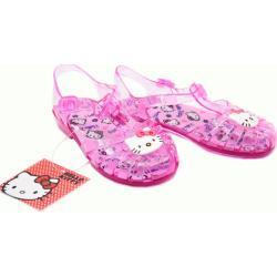 Hello Kitty Letní Dívčí Růžové Sandálky