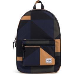 HERSCHEL Settlement, objem 23 l, barva černá, modrá, béžová, studenstký, batoh na notebook