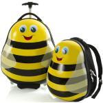 Heys Travel Tots Lightweight Kids Bumble Bee – sada batohu a kufru Kufr: cca 30 l , Batoh: cca 9 l