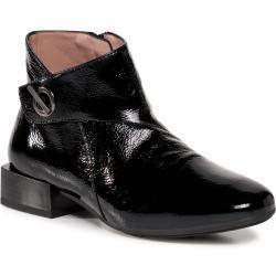 Dámské Kotníkové boty Hispanitas v černé barvě v lakovaném stylu s výškou podpatku 3 cm - 5 cm