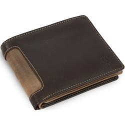 Hnědá pánská kožená peněženka Emerson Arwel
