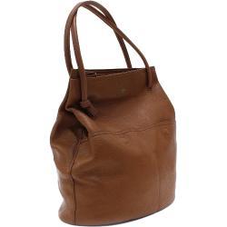 Hnědá prostorná dámská kabelka ve tvaru vaku Lacyann Mahel