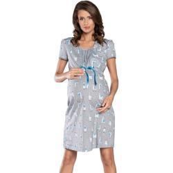 Dámské Těhotenské oblečení Italian Fashion v šedé barvě