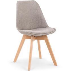 Jídelní židle K303 Halmar Šedá