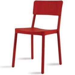 Jídelní židle Lisboa červená