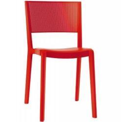 Jídelní židle Spot červená