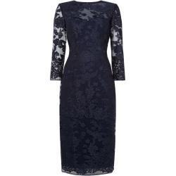 JS Collections Long sleeve lace bodycon dress