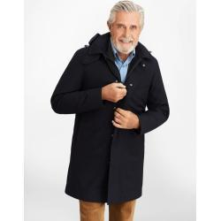 Kabát Brooks Brothers Bonded Twill Hooded Topcoat