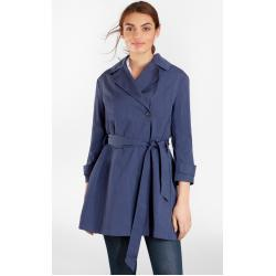 Kabát Brooks Brothers Three-Quarter-Sleeve Trench Coat