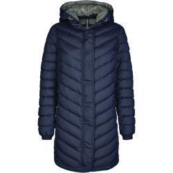 Dámské Klasické kabáty Camel Active v modré barvě ve velikosti XS