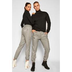 Kalhoty z materiálu Diamante Wear