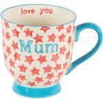 Keramický hrnek s hvězdičkama a nápisem Mum, Love You