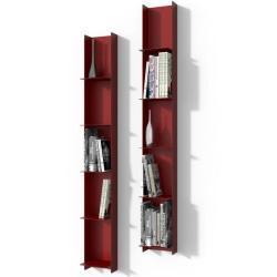 Knihovna Libra1 červená