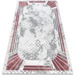 Koberec AKRYL VALS 0A042A H03 46 Vintage Art Deco slonová kost / růžový 160x230 cm