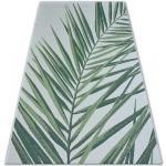 Koberec COLOR 19434/062 SISAL Listy zelená JUNGLE 80x150 cm