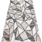 Koberec SISAL COOPER Mozaika 22208 ecru / černý 80x150 cm