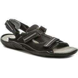 Koma 71 černé pánské nadmerné sandály EUR 47
