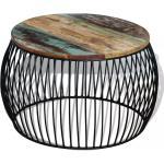 Konferenční stolek Visalia - masivní recyklované dřevo   68x43 cm