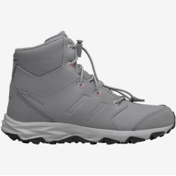 Chlapecké Kotníkové boty New Balance v šedé barvě na šněrování voděodolné