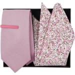 Kravatová sada Blush Pink