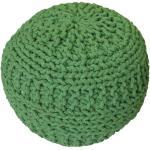 KUDOS Textiles Pvt. Ltd. MEGA AKCE: Sedací vak TEA POUF 14 zelený - 40x40x35 cm
