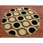 Kulatý koberec BLACKY model 69 kruh 140 cm