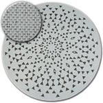 Kulatý koberec FLAT 48715/768 SISAL - vitráže kruh 120 cm