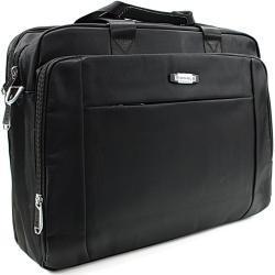 Kvalitní černá pánská taška na notebook Cursa Mahel