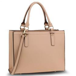 L&S krémová Anna Grace Fashion do ruky taška/kabelka - béžová LS-AG00646_NUDE