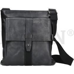 Lagen 22421 navy kožená taška přes rameno