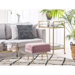 Lavička s uložným prostorem do ložnice ODESSA růžová