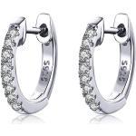 Linda's Jewelry Stříbrné náušnice Kruhy Malé Elegance IN071
