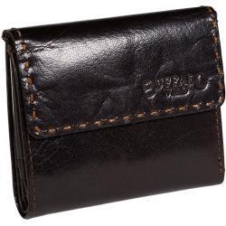 Malá kožená peněženka Buffalo Wild CC2-BWJ hnědá