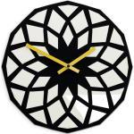 Mazur Nástěnné hodiny Lotos černé