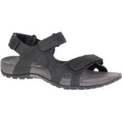 Pánské Páskové sandály Merrell v černé barvě na léto