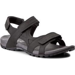 Pánské Páskové sandály Merrell v černé barvě ve slevě na léto