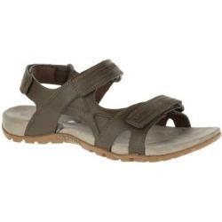 Pánské Páskové sandály Merrell v šedé barvě na léto