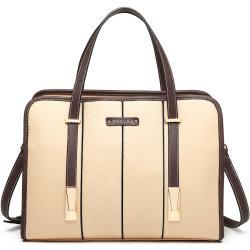 MISS LULU Béžová taška přes rameno Panel