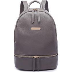 MISS LULU Šedý školní batoh, objem , barva šedá, městský, studenstký