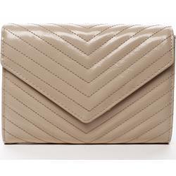 Moderní dámská koženková kabelka New Yersey, béžová
