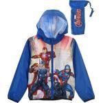 Modrá Jarní Chlapecká Bunda Avengers