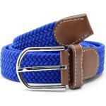Modrý elastický opasek