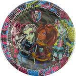 Monster High Party Time Talíř - 10 Kusů